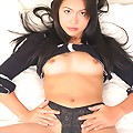 Babe Cherry Chen Plays With Toy