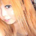 Stylish Japanese blonde gf from Hokkaido